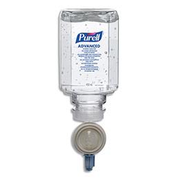 Gel hydro-alcoolique Purell - lot de 6 recharges de 450 ml (photo)