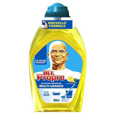 Nettoyant multi-usages Mr Propre - flacon gel liquide - citron 500 ml (photo)
