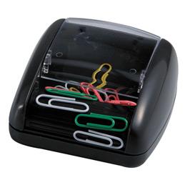 Distributeur magnétique de trombones Safetool - noir (photo)