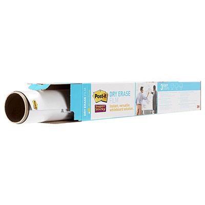Tableau blanc en rouleau Post-It - 60,9 x 91,4 cm - surface effaçable