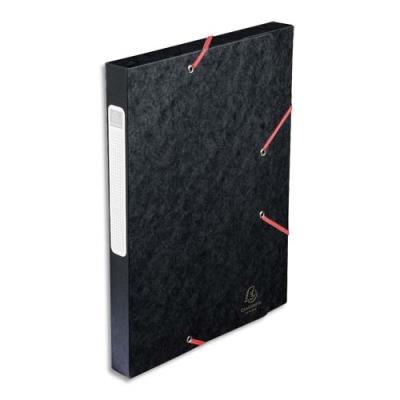 bo te de classement cartobox dos 30 mm 240 x 320 mm pour format a4 noir achat pas cher. Black Bedroom Furniture Sets. Home Design Ideas