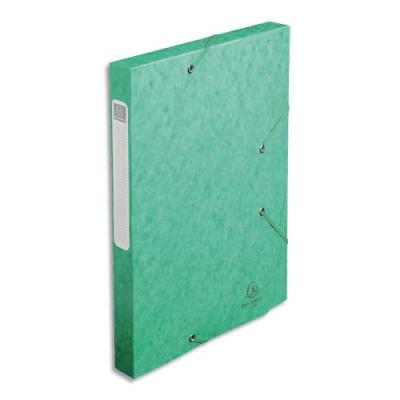 bo te de classement cartobox dos 30 mm 240 x 320 mm pour format a4 vert achat pas cher. Black Bedroom Furniture Sets. Home Design Ideas
