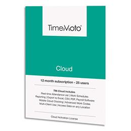 Logiciel Safescan TM Cloud - jusqu'à 50 utilisateurs supplémentaires + 1 an offert (photo)