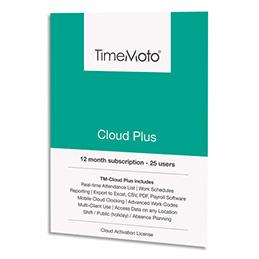Logiciel Safescan TM Cloud+ - jusqu'à 50 utilisateurs supp + gestion à distance / export logiciel paie (photo)