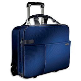 Trolley cabine leitz 2 roues bleu