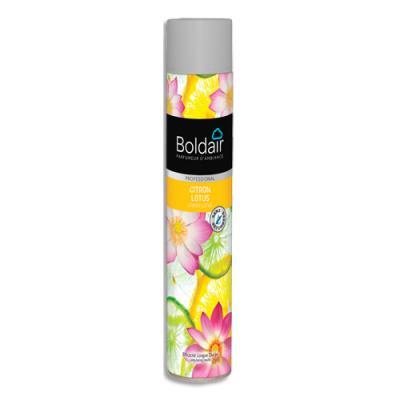 Désodorisant d'atmosphère Boldair - parfum Citron Lotus Professional - 750 ml (photo)