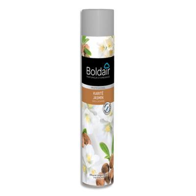 Désodorisant d'atmosphère Boldair - parfum Karité Jasmin Professional - 750 ml (photo)