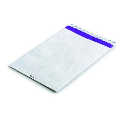 Pochettes blanches Bong en Tyvek -  25 x 35,3 cm - boîte de 20 (photo)