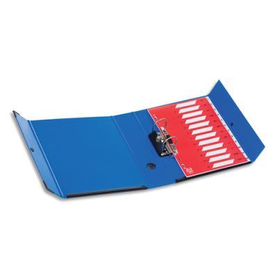 Classeur Arianex à levier amovible - en PVC - mécanisme simple - dos 7,5 cm - bleu