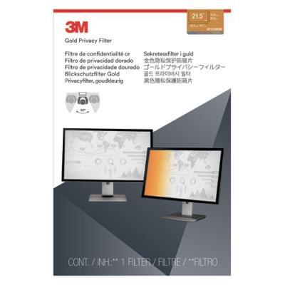 Filtre de confidentialité 3M - or - pour PC fixe de 21,5