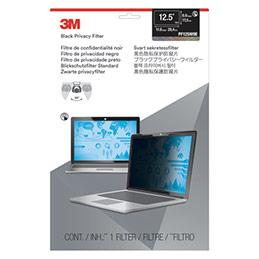 Filtre de confidentialité 3M - noir - touch écran bord à bord - pour PC portable de 12,5