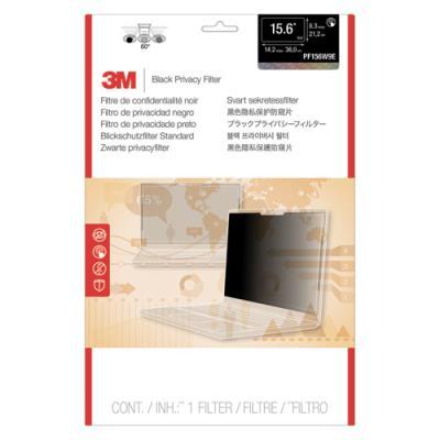 Filtre de confidentialité 3M - noir - touch écran bord à bord - pour PC portable 15,6