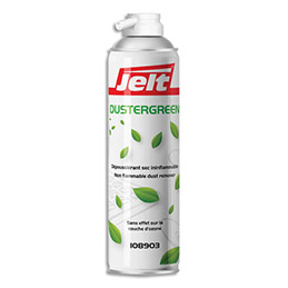 Aérosol dépoussiérant Jelt Dustergreen - gaz HFO sans HFC - 650ml/400g (photo)