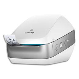 imprimante d 39 tiquettes dymo labelwriter wireless blanche achat pas cher. Black Bedroom Furniture Sets. Home Design Ideas