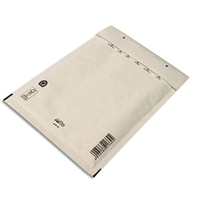 Pochettes à bulles d'air Airpro en Kraft blanc - fermeture auto-adhésive - 23 x 34 cm - paquet de 10 (photo)