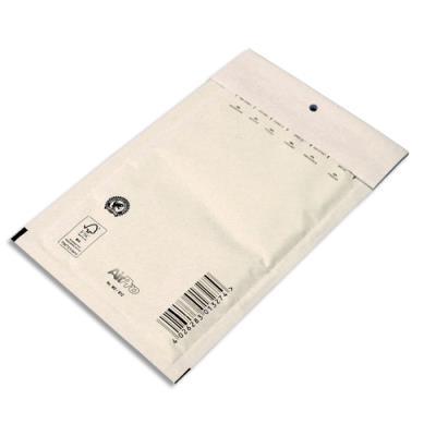 Pochettes à bulles d'air Airpro en Kraft blanc - fermeture auto-adhésive - 12 x 21,5 cm - paquet de 10 (photo)