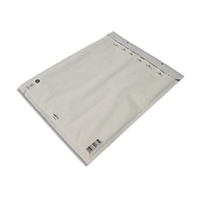 Pochettes à bulles d'air Airpro en Kraft blanc - fermeture auto-adhésive - 30 x 44,5 cm - paquet de 5 (photo)