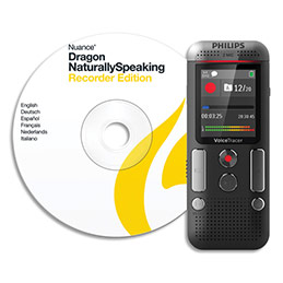 Enregistreur numérique Philips DVT2710 - 2 micros stéréo - écran LCD couleur - 8 Go (photo)