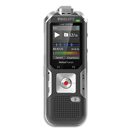 Enregistreur numérique Philips DVT6010 - 3 micros : 2 stéréo + zoom - détect. mouvement - écran LCD - 8 Go (photo)