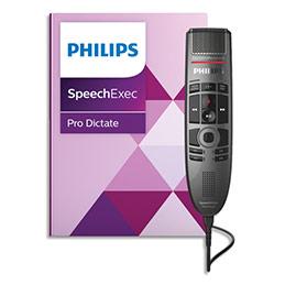 Set de dictée et de reconnaissance vocale numérique Philips SPeechMike Premium touch PSE3700 (photo)