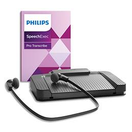 Kit de transcription et de reconnaissance vocale numérique Philips SpeechExec Pro PSE7277 (photo)