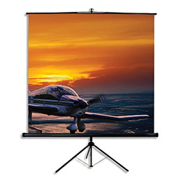 Ecran de projection portable sur trépied Oray - 175x175 (photo)
