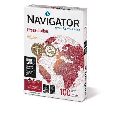 Papier Navigator Presentation - blanc - A4 - 100 g - ramette de 500 feuilles