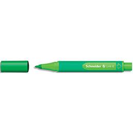 Stylo schneider fineliner link it 10 mm système click pour additionner une autre pointe vert