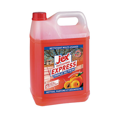 Jex Express désinfectant - parfum verger de Provence (photo)