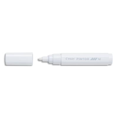 Marqueur peinture Pilot Pintor - pointe moyenne - blanc