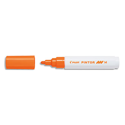 Marqueur peinture Pilot Pintor - pointe moyenne - orange