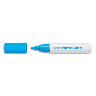 Marqueur peinture Pilot Pintor - pointe moyenne - bleu clair