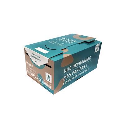 Boîte de collecte Kadnabox pour le tri et le recyclage des papiers (photo)
