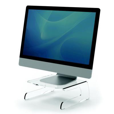 Support pour écran Fellowes Clarity en acrylique transparent