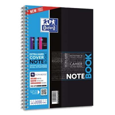 Cahier Oxford Notebook - B5 - 160 pages - 5x5 - carte rembordée rigide