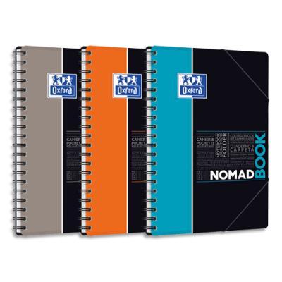 Cahier Oxford Nomadbook - B5 - 160 pages - seyès - couverture polypropylène
