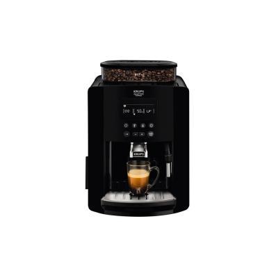 Machine à café expresso automatique YY3074FD Arabica Krups - avec broyeur grains  - 15 bars - noir (photo)