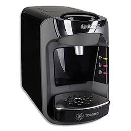 TASSIMO Machine à café Suny T32 Bosch Anthracite 1300W, capacité 0,8 litre L25,1 x H16,7 x P30,5 cm (photo)