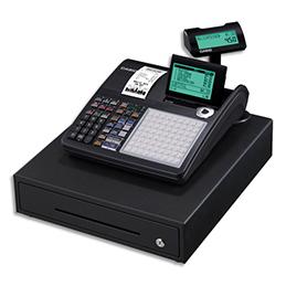 Caisse enregistreuse Casio SEC450 grand tiroir noir - compatible fiscalité 2018 (photo)