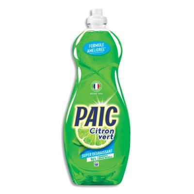 Liquide vaisselle main Paic - parfum citron vert - flacon de 750 ml (photo)