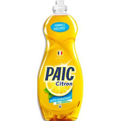 Liquide vaisselle main Paic - parfum citron - flacon de 750 ml (photo)