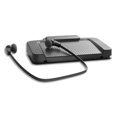 Kit de transcription Philips - pédalier USB - casque et logiciel SpeechExec Pro Transcribe (photo)