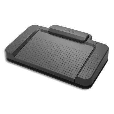 Pédale de controle USB Philips ACC2310/00 - 3 pédales, style PHI (photo)