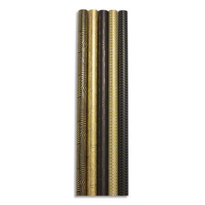 Papier cadeau Clairefontaine Premium - 80 g - 2 x 0,70 m - pelliculé - collection max et moi - rouleau (photo)