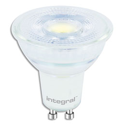 Spot LED Integral GU10 - 4,7 Watts équivalent 53 Watts - 425 Lumens - 4000 Kelvin