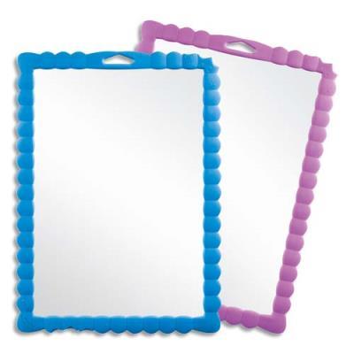 Ardoise plastique Maped transparente - format 31 x 23 cm - pour apprendre aux enfants à écrire ou dessiner (photo)