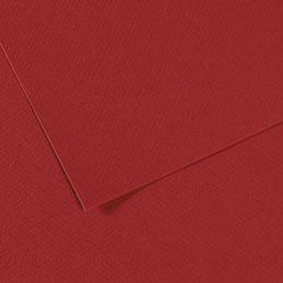 Papier dessin Canson Mi Teinte - 160 g - 50 x 60 - bordeaux - manipack de 25 feuilles (photo)