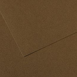 Papier dessin Canson Mi Teinte - 160 g - 50 x 60 - marron - manipack de 25 feuilles (photo)