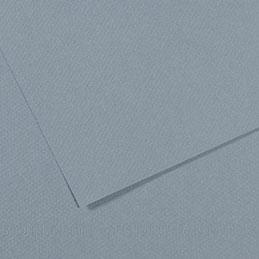 Papier dessin Canson Mi Teinte - 160 g - 50 x 60 - bleu clair - manipack de 25 feuilles (photo)