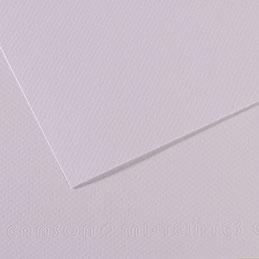 Papier dessin Canson Mi Teinte - 160 g - 50 x 60 - lilas - manipack de 25 feuilles (photo)